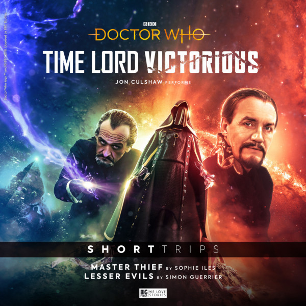 Time Lord Victorious: Master Thief and Lesser Evils - Cover Art